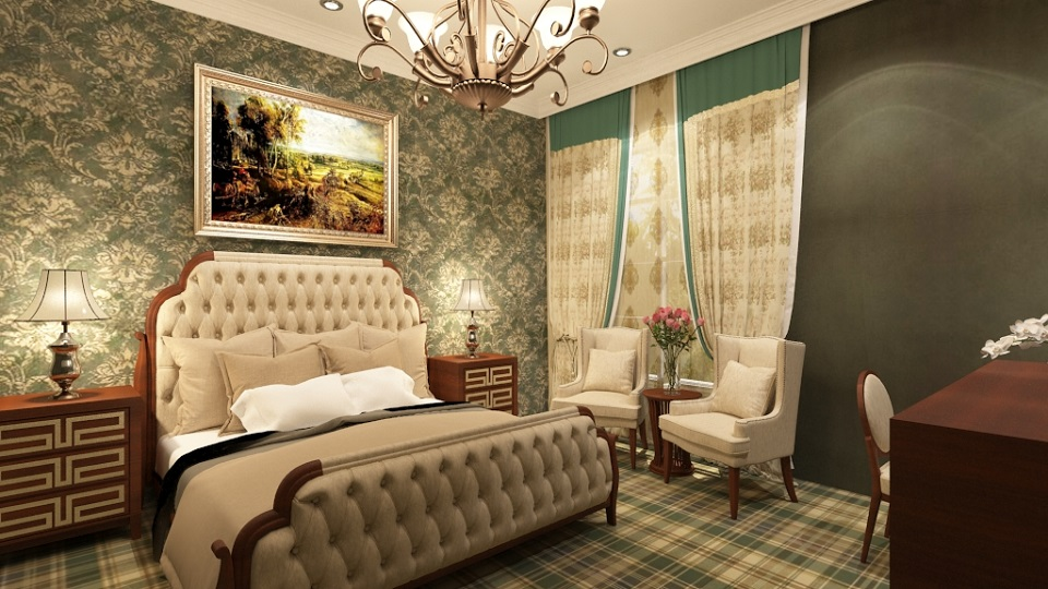 Glenburn Hotel Refurbished Room
