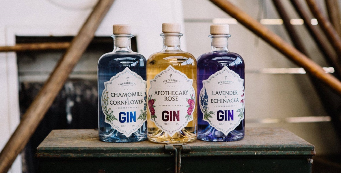 Old Curiosity Colour Changing Gins